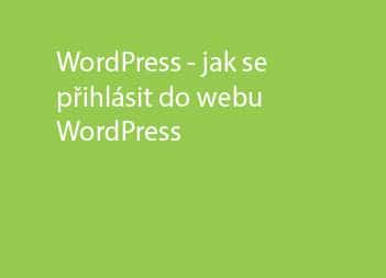 Jak se přihlásit do WordPress