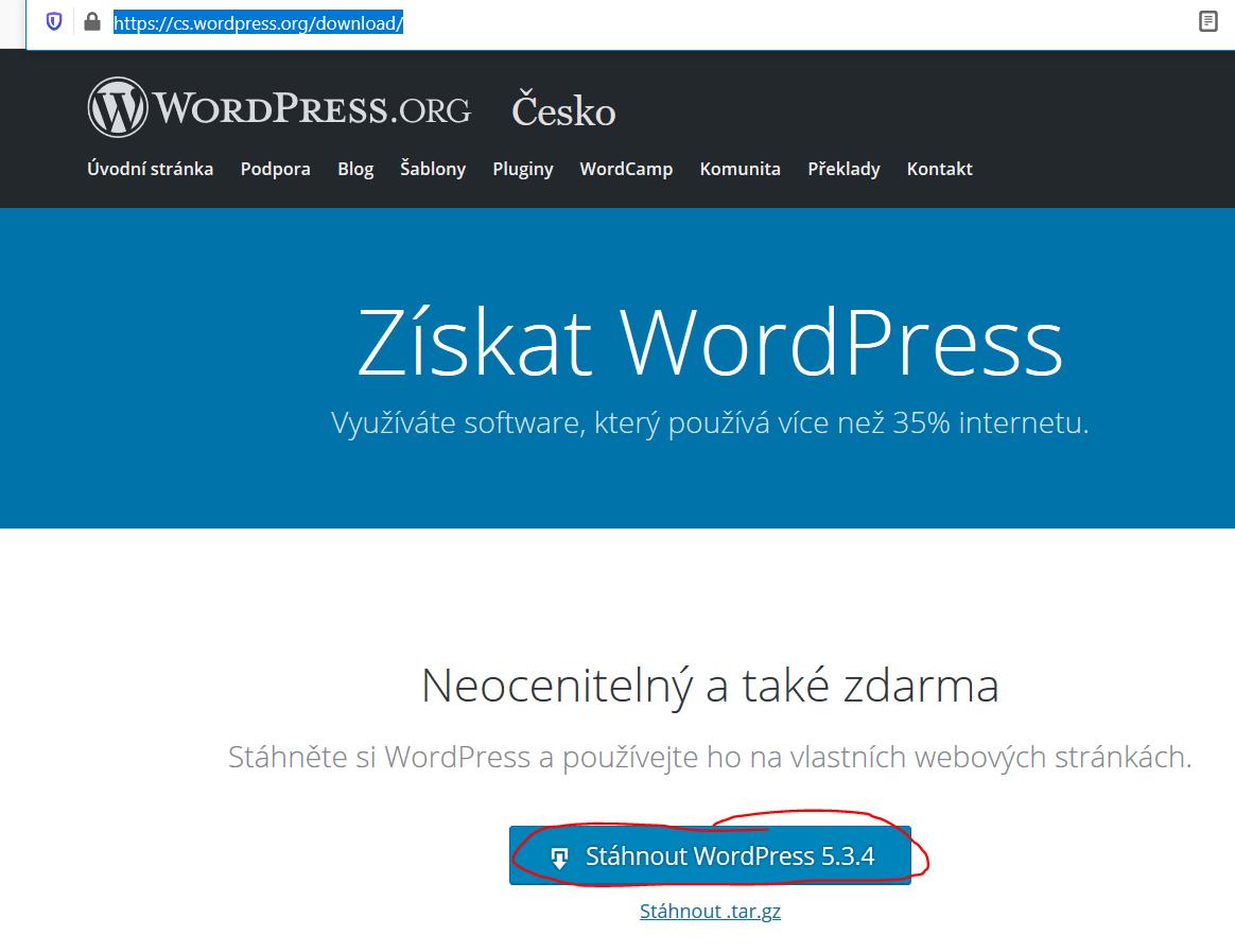 jak nastavit přesměrování stránky ve WordPress