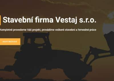 Webové stránky stavební firma